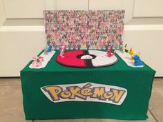Front view of the Pokemon box.