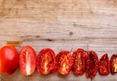 Dried tomatoes by Svetosila on Dried Tomatoes, Greek Recipes, Fresh, Tips, Food, Vitamins And Minerals, Healthy Recipes, Gastronomia, Ideas