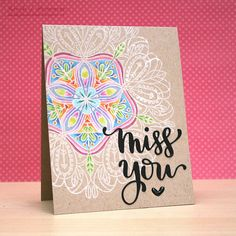 Hi everyone,    I'm popping by again to share THREE cards all made using the gorgeous Simon Says Stamp Emma Background Stamp . This stamp i...