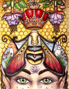 """Part of my """"Save the Bees"""" series. Bees give us so much~ Gratitude"""