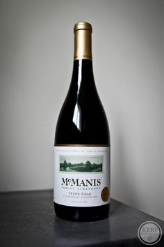 I generally love Petite Sirah (and Verdot)! and the McManis is a good one. It's full of ripe black fruit.