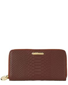Spotted this Gigi New York Python-Embossed Leather Wallet on Rue La La. Shop (quickly!).