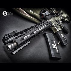 Highly modified AR15