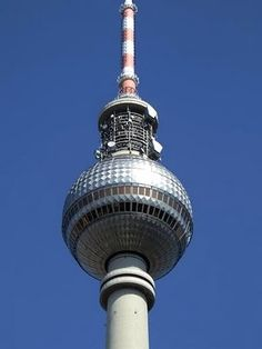 The Television Tower in Berlin travel-and-places