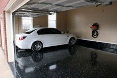 Black epoxy garage floor paint ideas