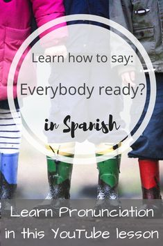 """"""" in Spanish to your kiddos, when you're. I hope you enjoy practicing this. Free Spanish Lessons, Learning Spanish, Spanish Phrases, How To Pronounce, I Hope You, Language, Teaching, Education, Sayings"""