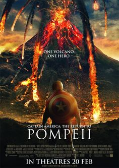 CAPTAIN AMERICA: THE RETURN TO POMPEII / To save his beloved, Steve Rogers battles a new threat from old history: the Mount Vesuvius.