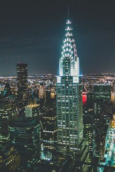 Chrysler Building by Denn Ice