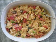 Tortellini & Bow Tie Pasta Salad