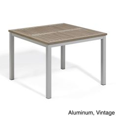 Oxford Garden Travira 39-inch Square Dining Table