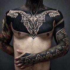Black Tattoos For Men - Best Tattoo Ideas For Men: Cool Badass Tattoos For Guys - Awesome Designs Tattoos Arm Mann, Top Tattoos, Trendy Tattoos, Unique Tattoos, Black Tattoos, Body Art Tattoos, Sleeve Tattoos, Best Tattoos, Symbolic Tattoos