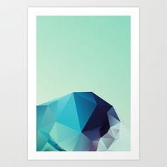 Geometric 2 Art Print by Three Of The Possessed - $17.68