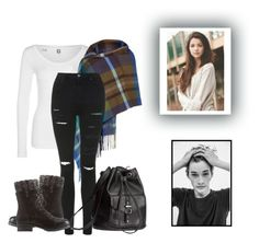 """""""Maze Runner #12"""" by fangirl-in-the-us ❤ liked on Polyvore featuring G-Star, Topshop, Charlotte Russe and H&M"""