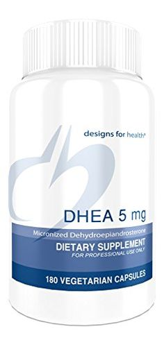 Designs for Health - DHEA 5 mg - 180 Vegetarian Capsules ** Check this awesome product by going to the link at the image.