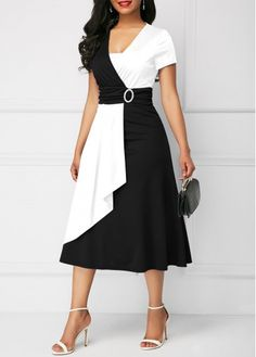Dresses For Women Stylish Dresses, Elegant Dresses, Sexy Dresses, Dress Outfits, Casual Dresses, Short Sleeve Dresses, Dresses With Sleeves, Fashion Outfits, Womens Fashion