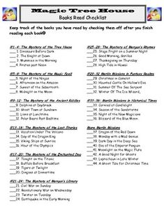 Magic Tree House Comprehension Worksheets | Free Printable Math ...