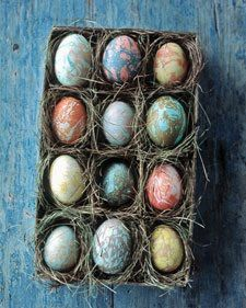 Martha Stewart #easter egg decorating ideas