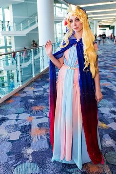 15 Amazingly Over-The-Top Female Cosplayers From Disney's Expo  #refinery29  http://www.refinery29.com/2015/08/92552/women-cosplay-costumes-d23-expo#slide-14  Putting on her best princess face. ...