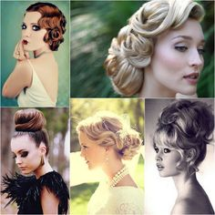 Bridal Hair - 25 Wedding Upstyles & Updo's - Some pretty inspiration for an upstyle for your wedding day