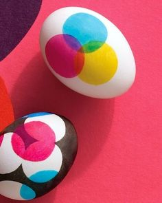 14 Easter craft ideas (via Babble) - these eggs look so cute.