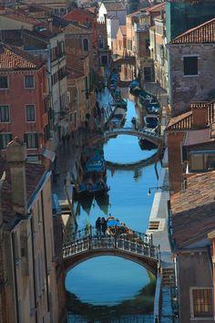 View from Ca'Rezzonico, Venice Italy