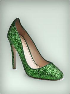 Jerome C. Rousseau Aizza Glitter Pumps
