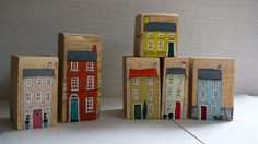 Sally's Shed  - wooden houses -make your own village