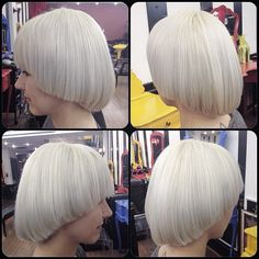 White by Roni Cesar #circushair #circuspamplona #hair #modernsalon #whitehair #fashion #style
