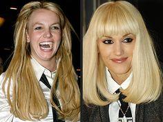 Britney and Gwen Work The Necktie Look — Will You?