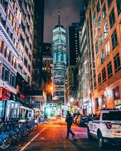 One World Trade Center by yanan aurora by newyorkcityfeelings.com - The Best Photos and Videos of New York City including the Statue of Liberty Brooklyn Bridge Central Park Empire State Building Chrysler Building and other popular New York places and attractions.