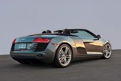 Awesome Audi Spyder❤️❤️❤️my dream car I love you Audi R8 Price, Audi R8 Convertible, Automobile, Transporter, Audi Cars, Sweet Cars, Ford Gt, Amazing Cars, Awesome