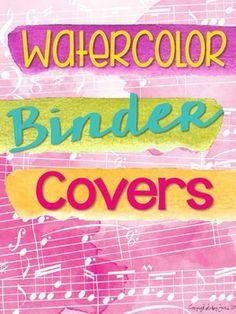 Boho Bird Binder Pages *editable