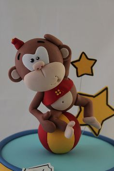 Circus Monkey by Andrea's SweetCakes, via Flickr