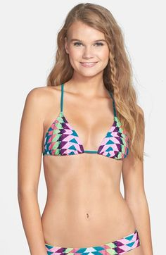 Rip Curl 'Phoenix' Halter Bikini Top (Juniors) available at #Nordstrom