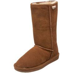 "BEARPAW Women's Emma 10"" Shearling Boot,Hickory,8 M US Bearpaw,http://www.amazon.com/dp/B003DNR3QK/ref=cm_sw_r_pi_dp_yhH0rb0ZT6AF2BK9"