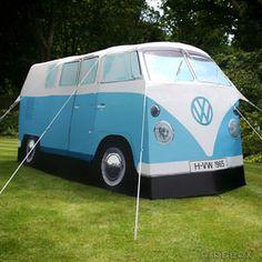 VW Camper Van Tent - lifestylerstore - http://www.lifestylerstore.com/vw-camper-van-tent/