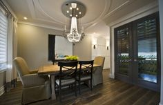 Love the idea of a wine cellar in the dining room!