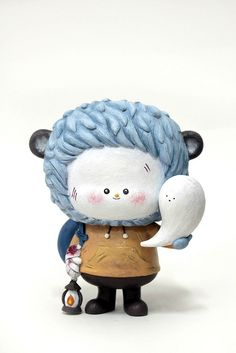 Whispering Spirit - I specially designed the figurine for shanghai toy store KUSSO