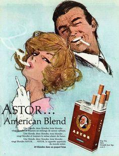 Astor cigarettes ~ Hof (Max Hofbauer)