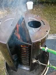Image result for copper coil fire water heater