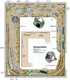 Ho Model Trains, Ho Trains, N Scale Layouts, Model Railway Track Plans, Garden Railroad, Train Table, Model Train Layouts, Ho Scale, Railroad Tracks