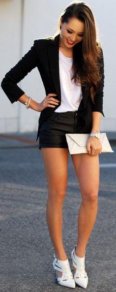 Classy Chic Black and White