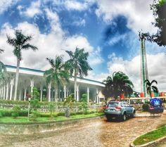 Masjid Agung Jambi ... Masjid Seribu Tiang.