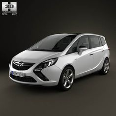 Opel Zafira Tourer 2012 3d model from humster3d.com. Price: $75