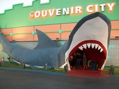 Gulf Shores, Alabama ~ Souvenir City...you can't go to Gulf Shores & not go to Souvenir City. It's a must :)