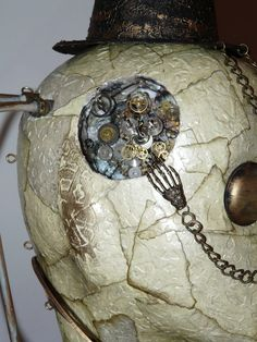 ABSOLUTELY MIND BLOWING!! Lamp series 7 'The Bright Idea' - Steampunk Style Lamp
