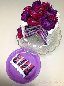 Eventageous Parties: Striped Tea Party Cake Tutorial