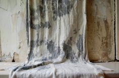 no. 3 scarf tie dye organic cotton hemp jersey naturally hand dyed