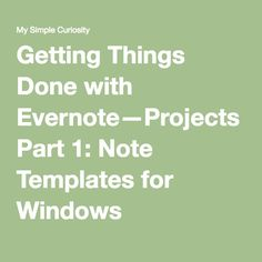How to create a planner with the evernote calendar template dr in the last post i discussed how to create note templates in evernote for windows now lets discuss how to do it on a mac again i want to give credit to maxwellsz