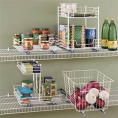 pantry slide-out organizers